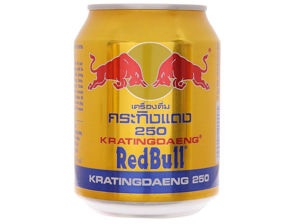 6 lon nước tăng lực Redbull 250ml 2
