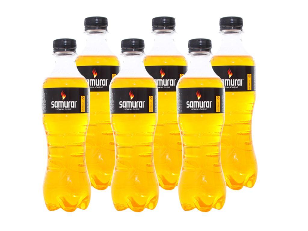 6 chai nước tăng lực Samurai 330ml 1