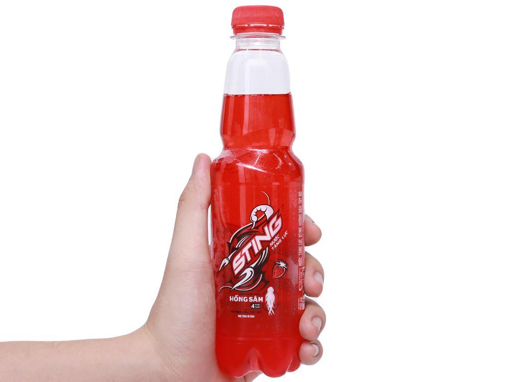 24 chai nước tăng lực Sting hương dâu 330ml 9