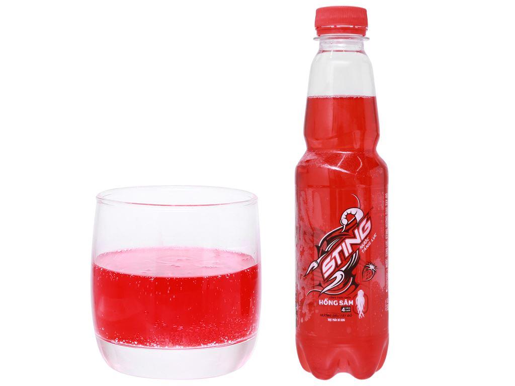 24 chai nước tăng lực Sting hương dâu 330ml 10