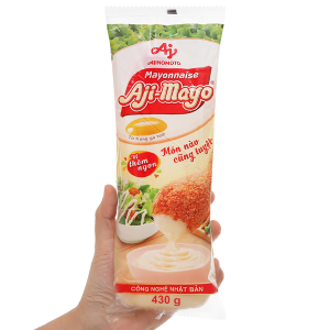 Sốt mayonnaise Aji-mayo Ajinomoto chai 430g