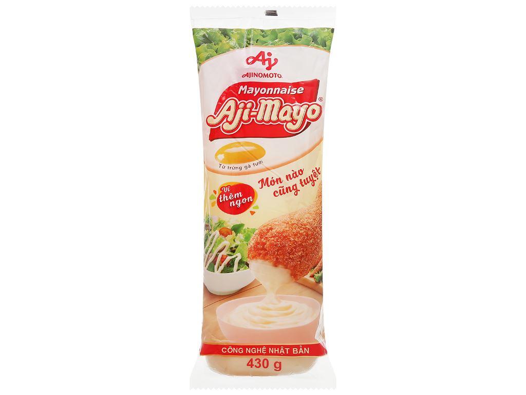 Sốt mayonnaise Aji-mayo Ajinomoto chua béo chai 430g 1