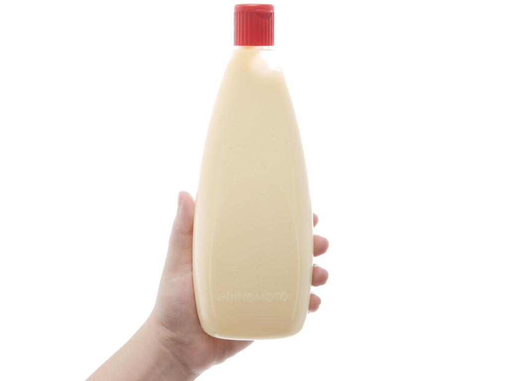 Sốt mayonnaise Aji-mayo Ajinomoto chua béo chai 430g 4