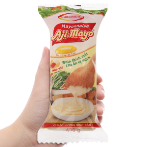 Sốt mayonnaise Aji-mayo Ajinomoto chua béo chai 430g