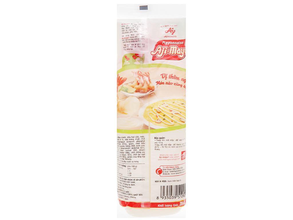 Sốt mayonnaise Aji-mayo Ajinomoto chai 260g 2