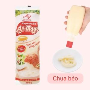 Sốt mayonnaise Aji-mayo Ajinomoto chai 260g