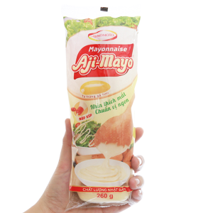 Sốt mayonnaise Aji-mayo Ajinomoto Chua béo chai 260g