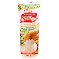 Sốt Mayonnaise Chua béo Aji-Mayo chai 260g