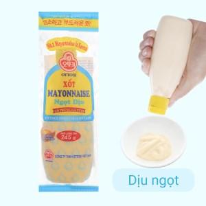 Xốt mayonnaise Ottogi ngọt dịu chai 245g