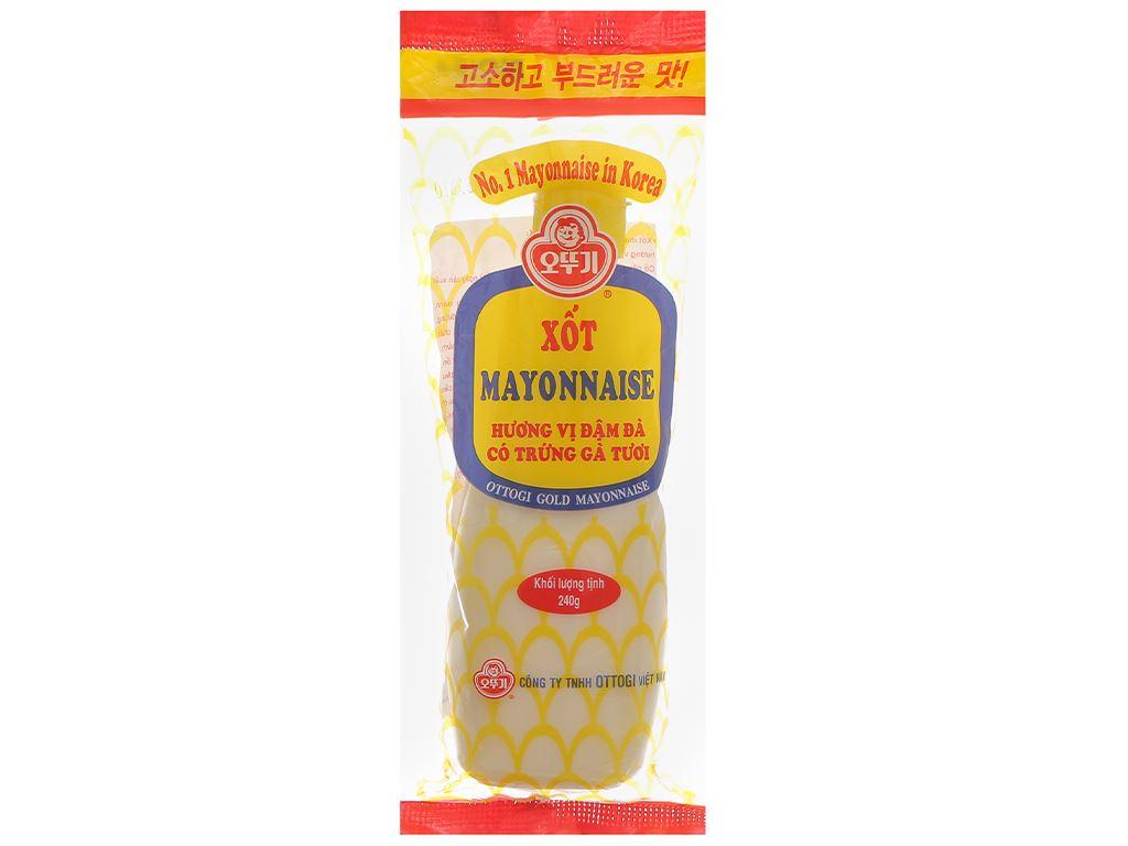 Xốt mayonnaise Ottogi đậm đà chai 240g 1