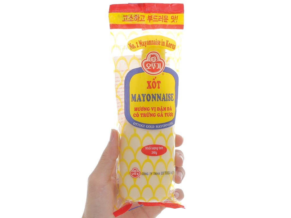 Xốt mayonnaise Ottogi đậm đà chai 240g 4