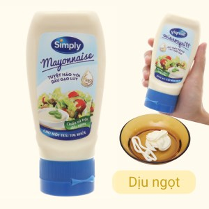 Sốt mayonnaise Simply chai 230g