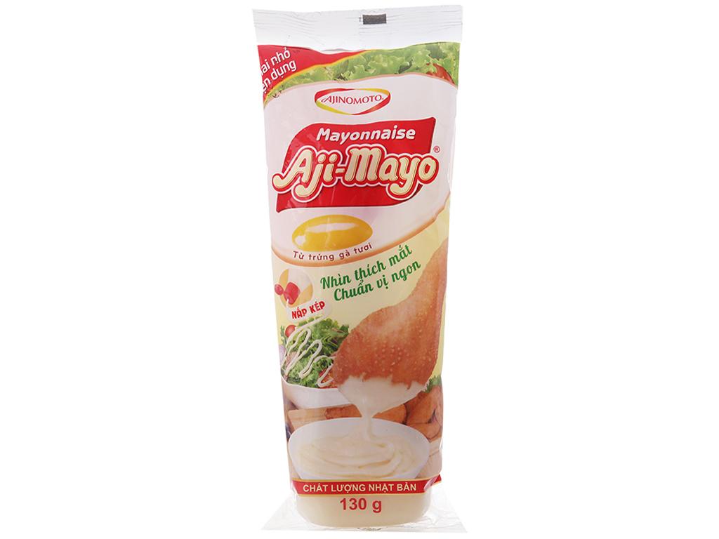 Sốt mayonnaise Aji-mayo Ajinomoto chua béo chai 130g 1