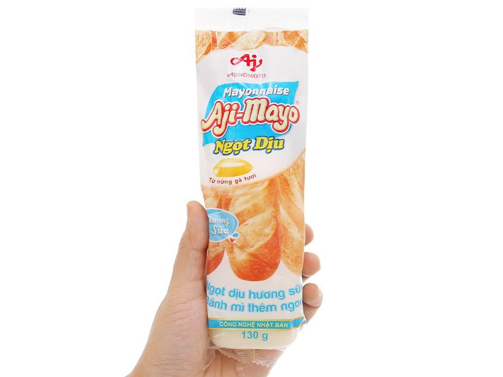 Sốt mayonnaise Aji-mayo Ajinomoto ngọt dịu chai 130g 4