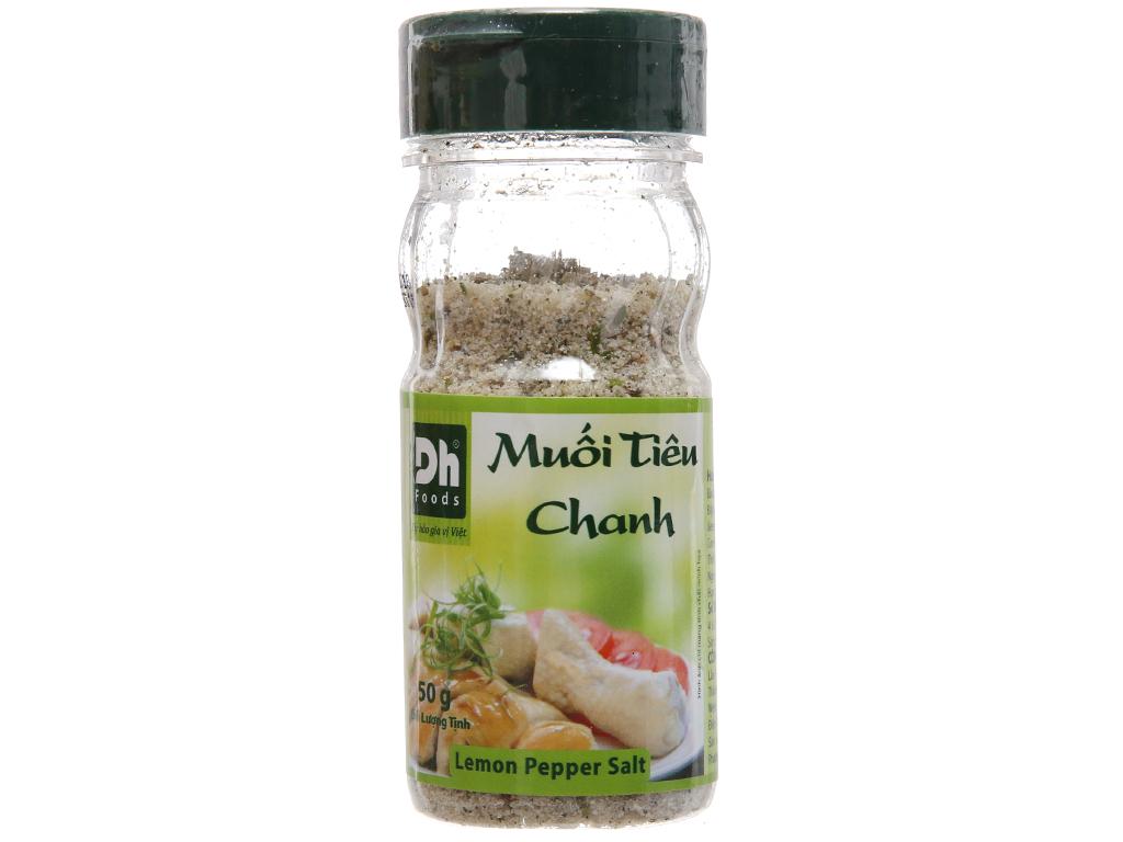 Muối tiêu chanh Dh Foods hũ 50g 1