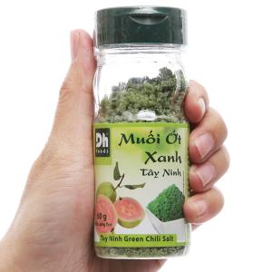 Muối ớt xanh Tây Ninh Dh Foods hũ 60g
