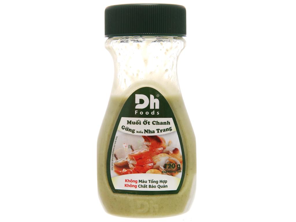 Muối ớt chanh gừng kiểu nha trang Dh Foods chai 120g 2