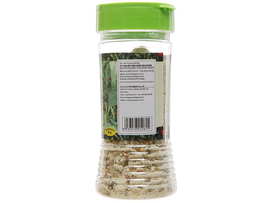 Muối ớt xiêm rừng Tinh Nguyên hũ 90g 2