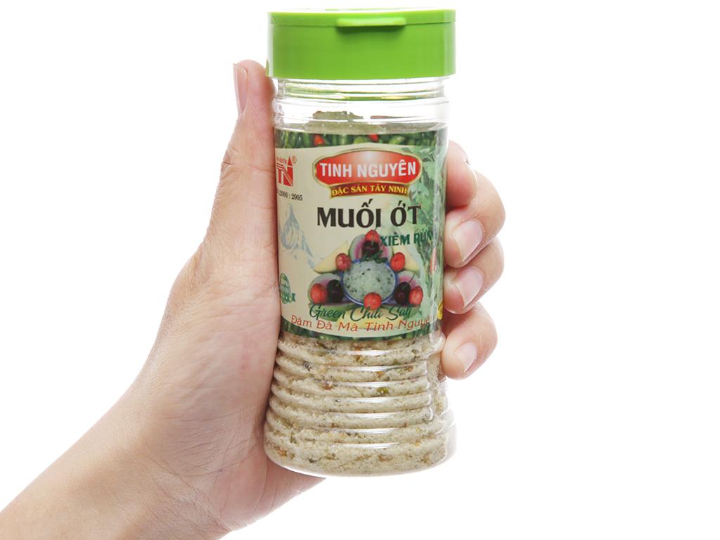 Muối ớt xiêm rừng Tinh Nguyên hũ 90g 3