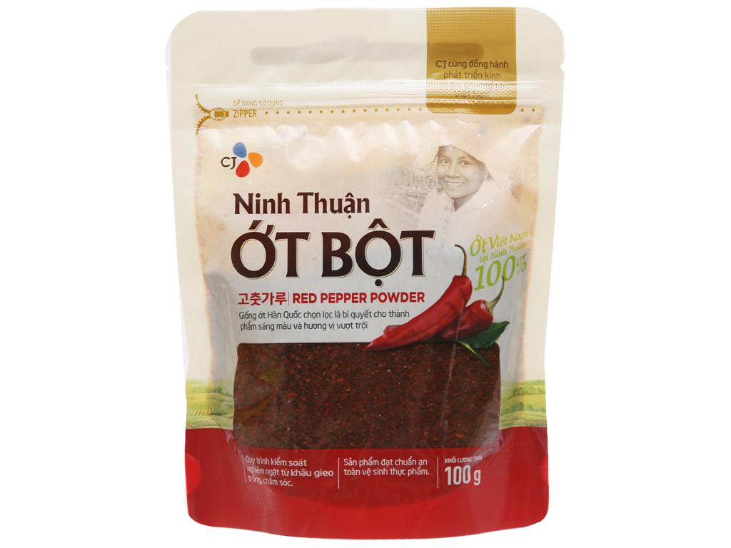 Ớt bột Ninh Thuận CJ Food gói 100g 1
