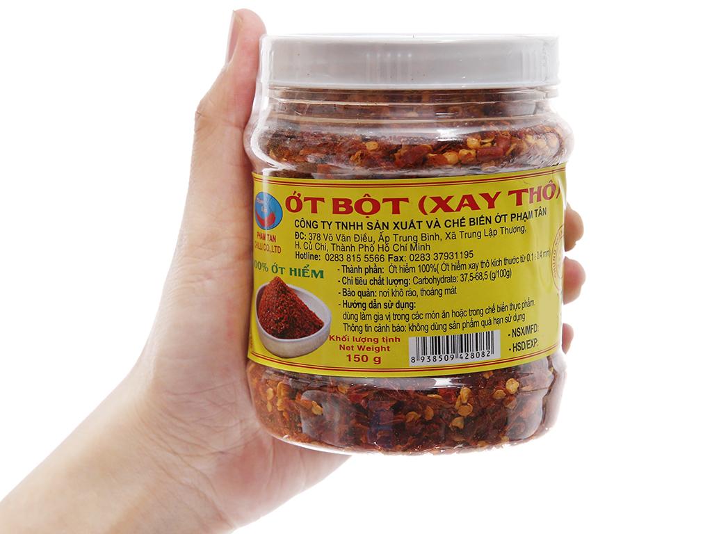 Ớt bột xay thô Phạm Tân hũ 150g 3
