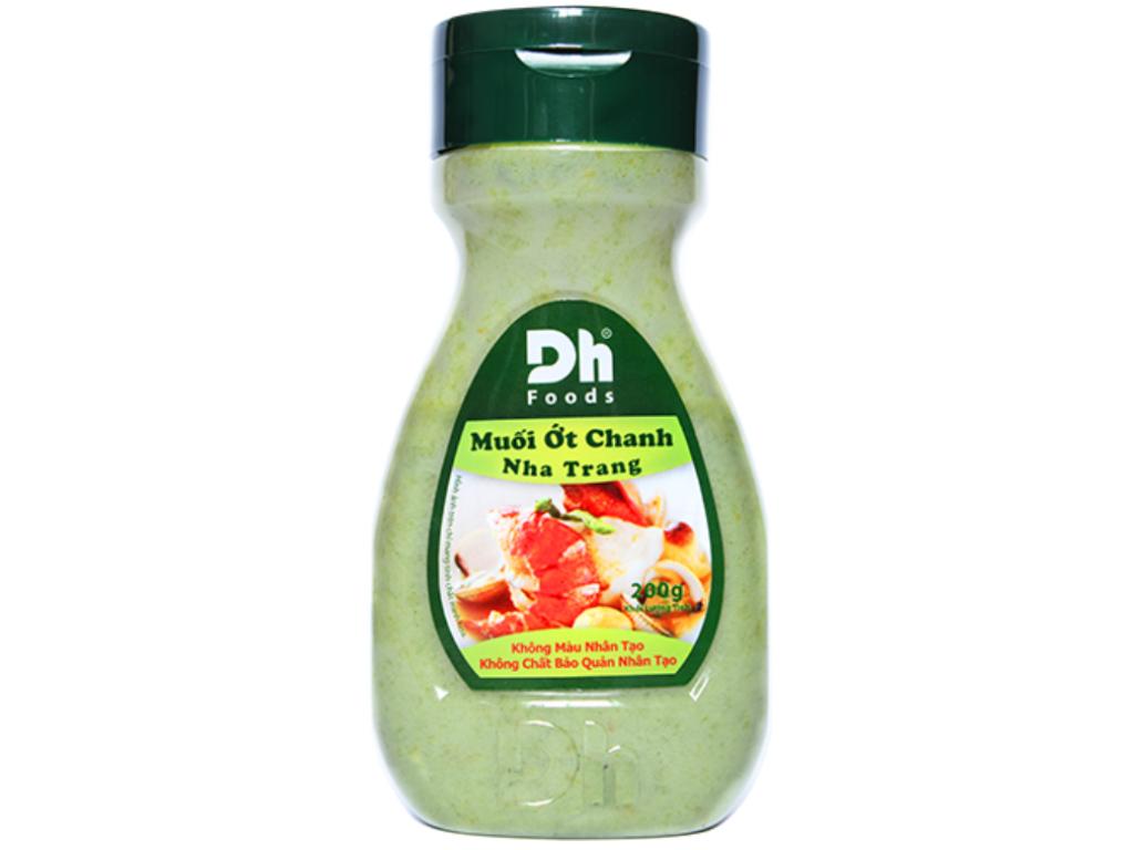 Muối ớt chanh Nha Trang Dh Foods hũ 200g 2
