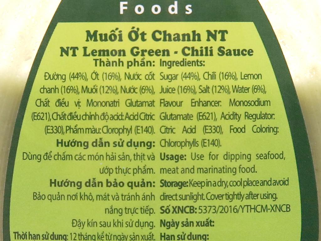 Muối ớt chanh Nha Trang Dh Foods hũ 200g 5