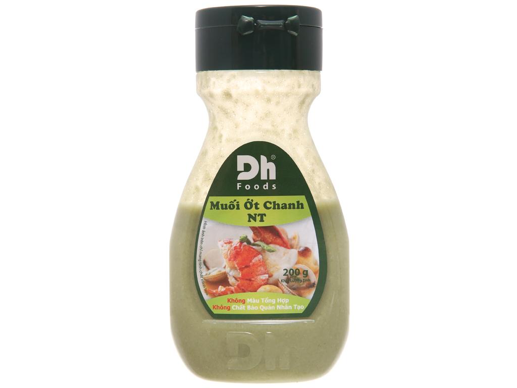Muối ớt chanh Nha Trang Dh Foods hũ 200g 1