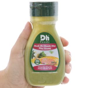 Muối ớt chanh dây Nha Trang Dh Foods chai 200g