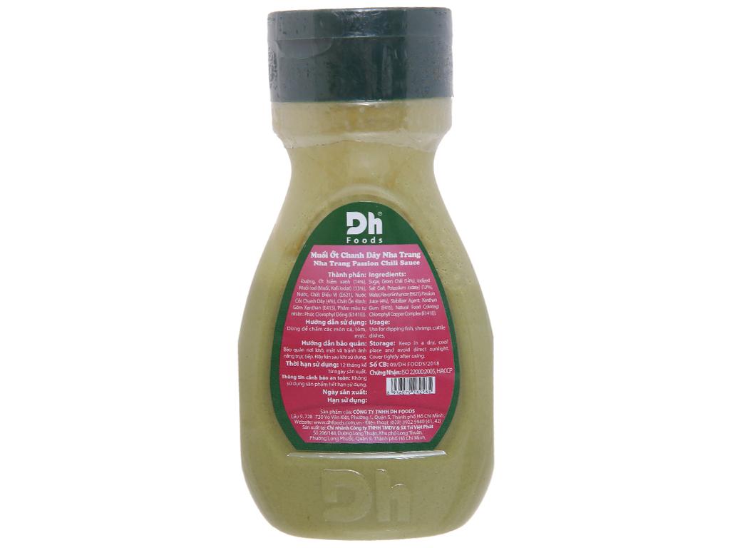 Muối ớt chanh dây Nha Trang Dh Foods chai 200g 3