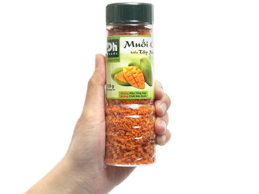 Muối ớt kiểu Tây Ninh Dh Foods hũ 120g 3