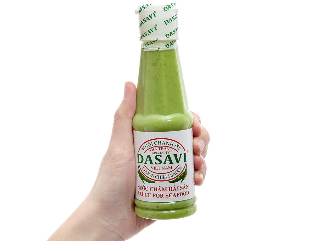 Muối chanh ớt xanh Nha Trang Dasavi chai 260g 3