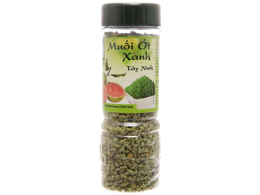 Muối ớt xanh Tây Ninh Dh Foods hũ 120g 1