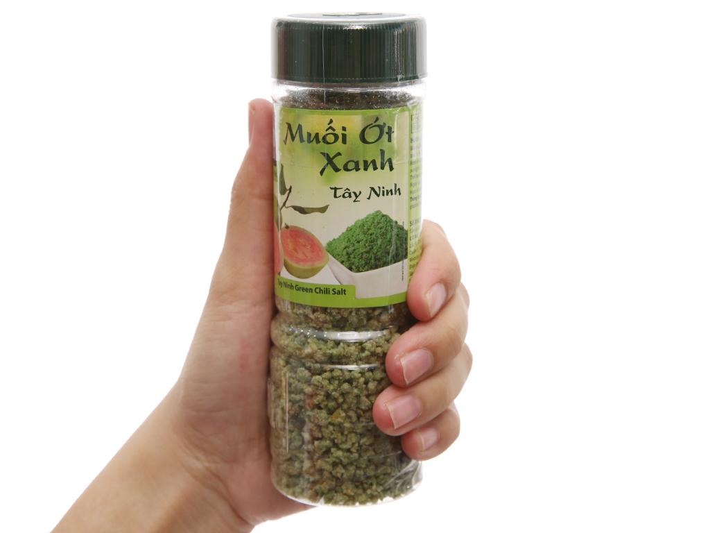 Muối ớt xanh Tây Ninh Dh Foods hũ 120g 3