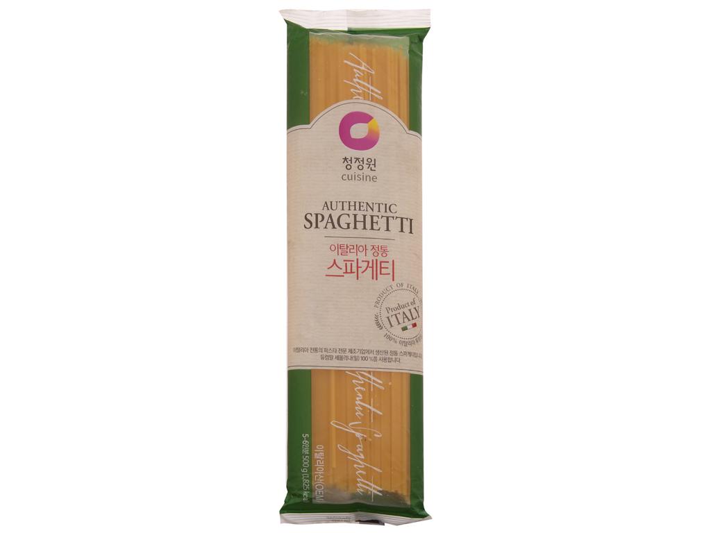 Mì spaghetti Miwon gói 500g 2