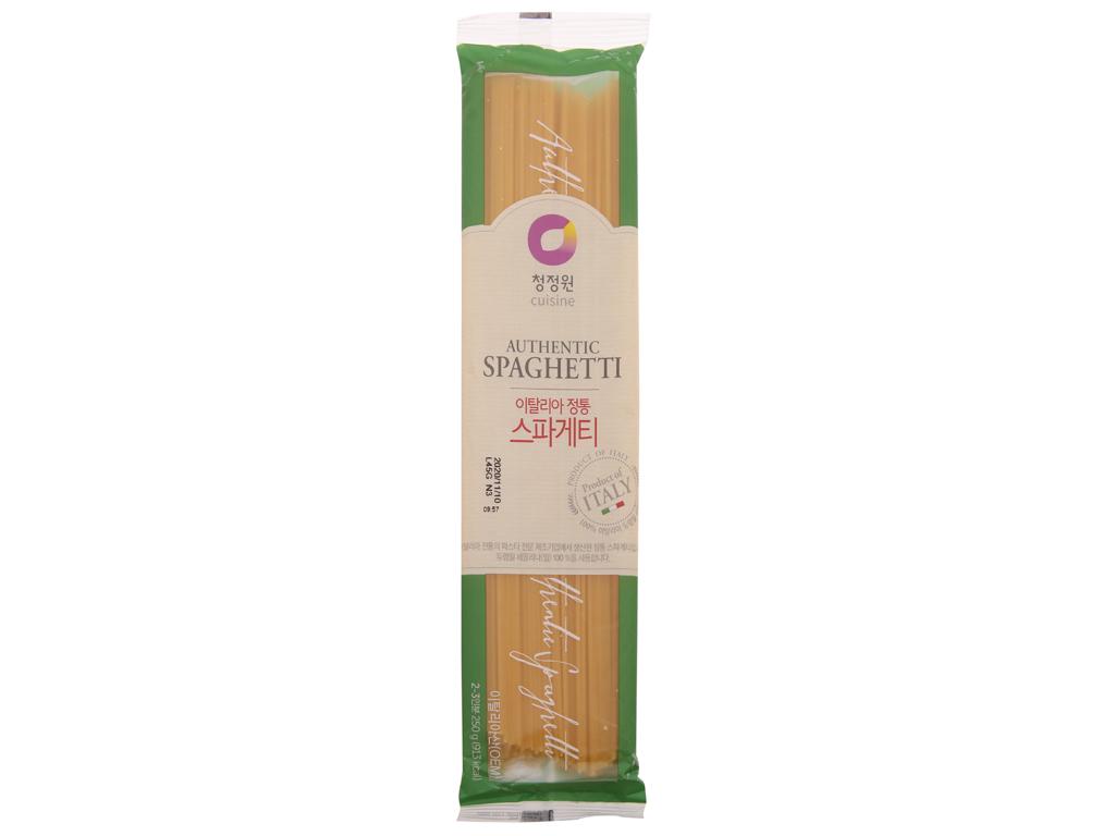 Mì spaghetti Miwon gói 250g 2