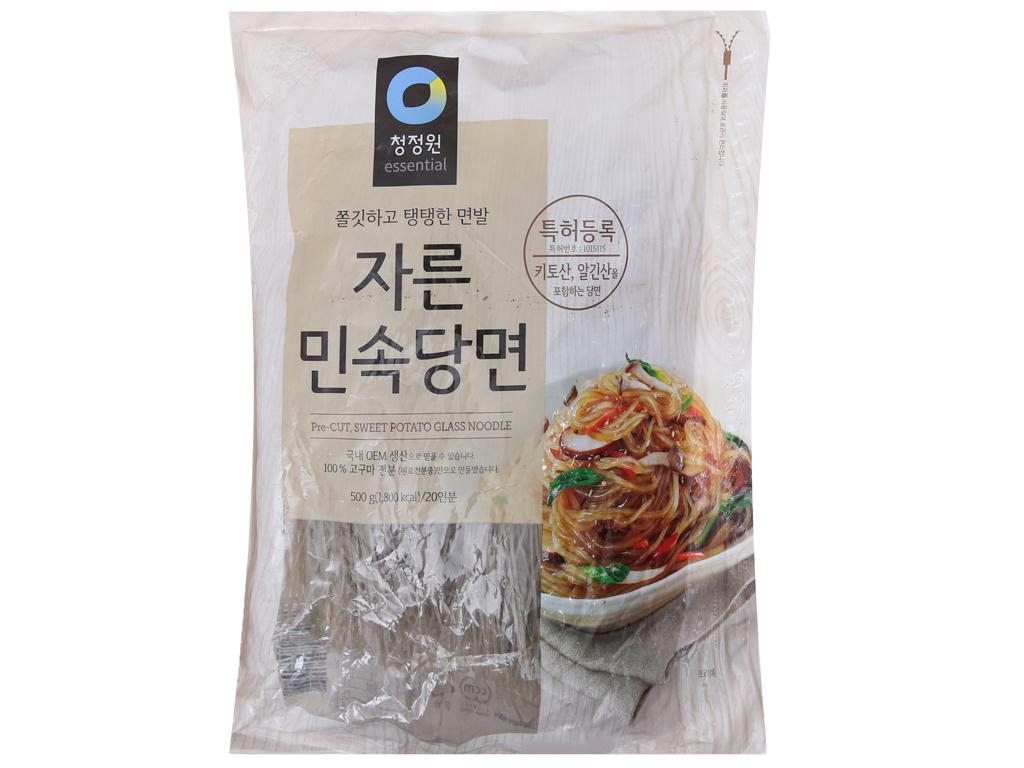 Miến khoai lang Hàn Quốc Miwon gói 500g 2