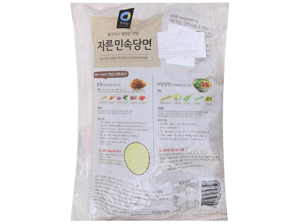 Miến khoai lang Hàn Quốc Miwon gói 500g 3