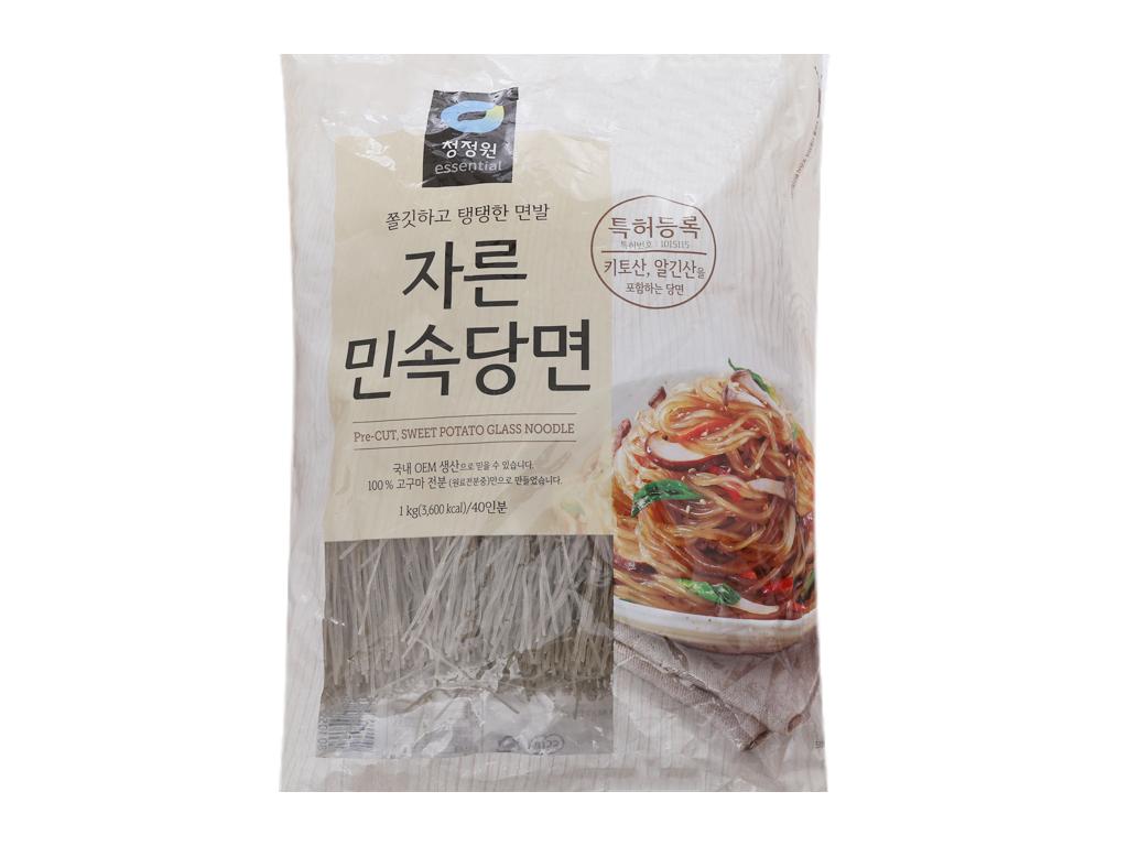 Miến khoai lang Hàn Quốc Miwon gói 1kg 1
