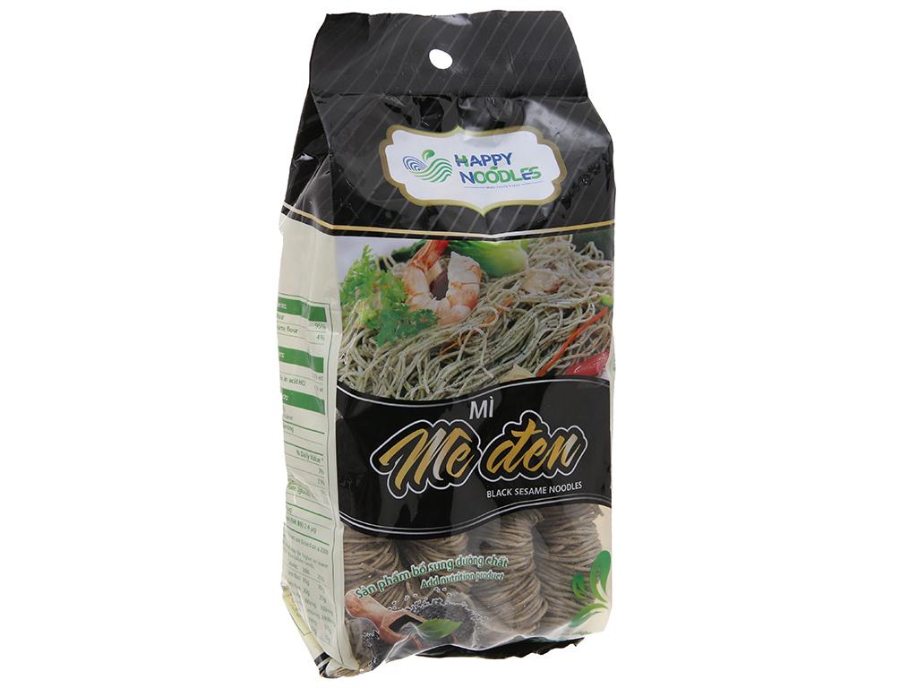 Mì mè đen Happy Noodles gói 400g 2