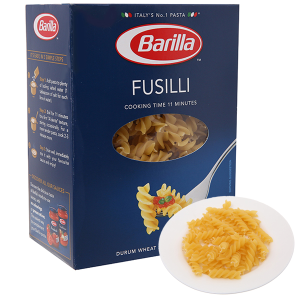 Nui xoắn số 98 Fusilli Barilla hộp 500g