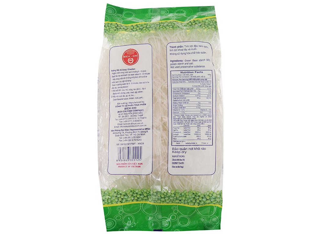 Miến đậu xanh Bích Chi gói 200g 3