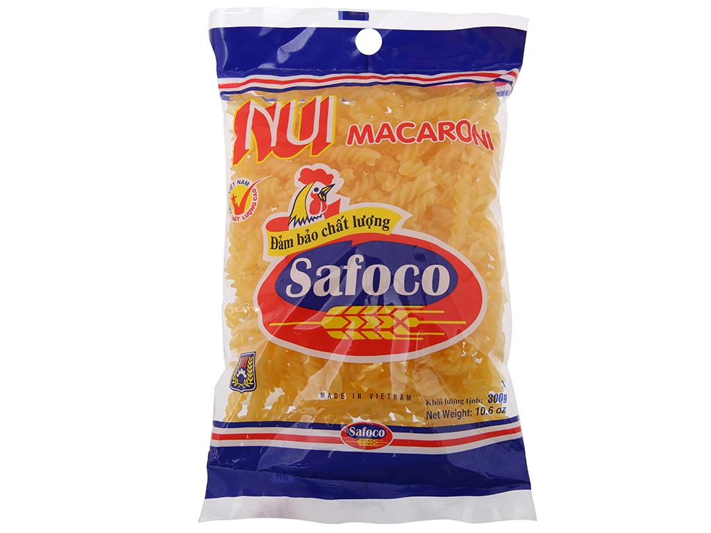Nui xoắn Safoco gói 300g 2