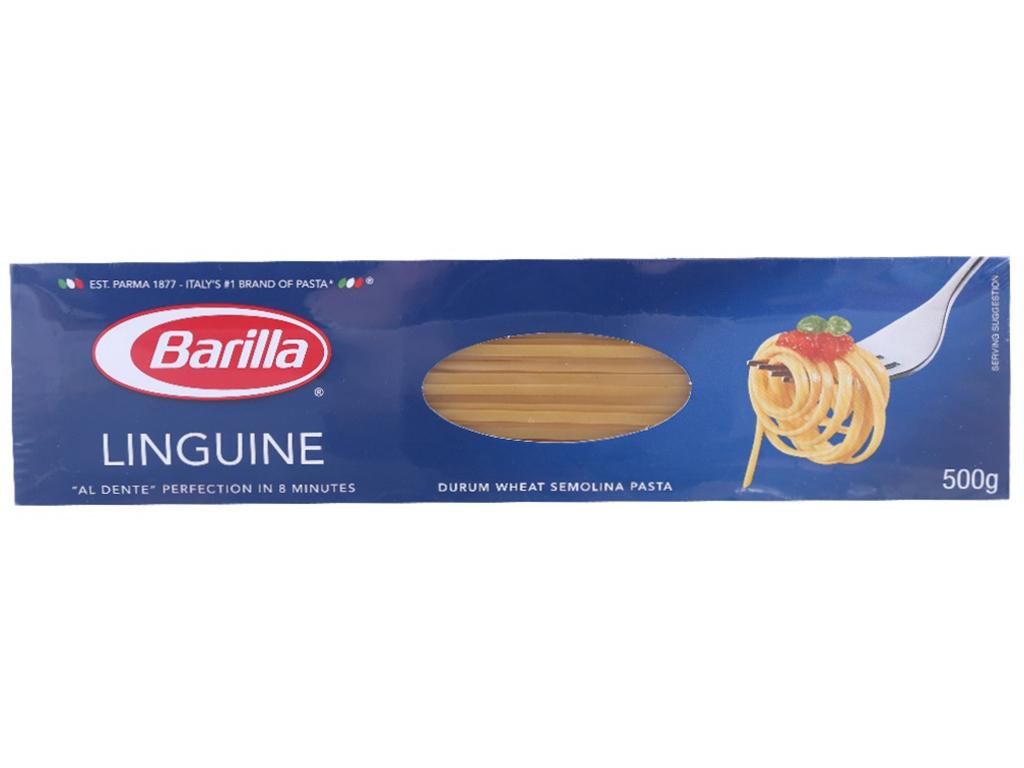 Mì Ý sợi dẹp Linguine Barilla hộp 500g 1