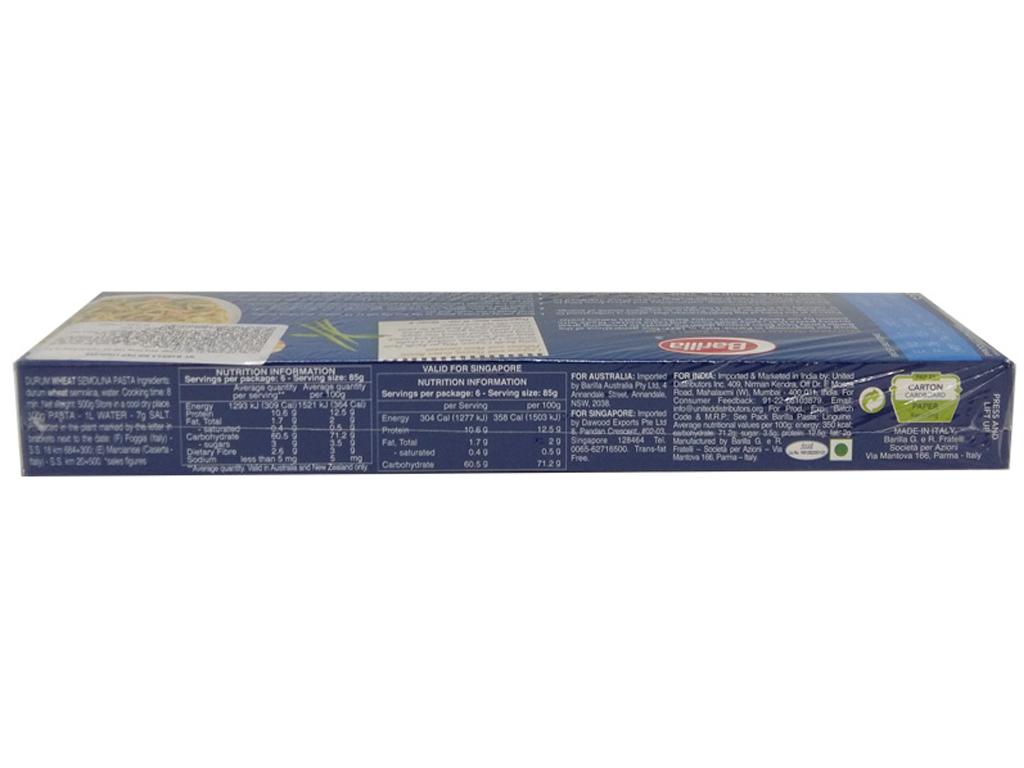 Mì Ý sợi dẹp Linguine Barilla hộp 500g 4