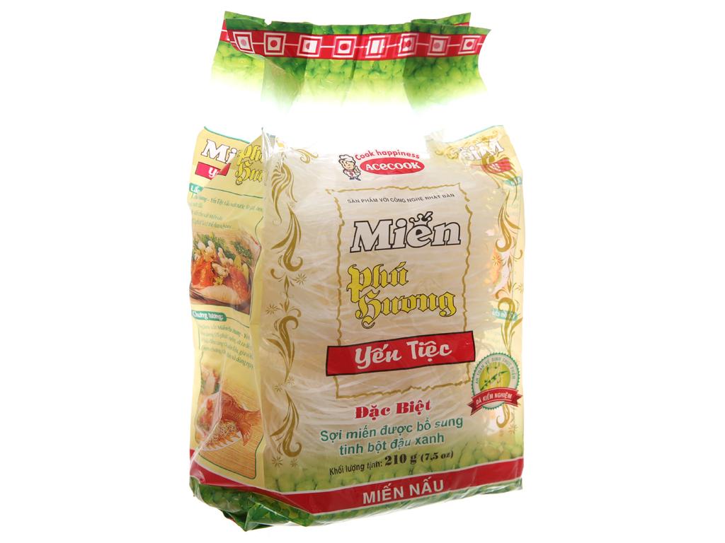 Miến đậu xanh Yến tiệc Phú Hương Vina Acecook gói 210g 2