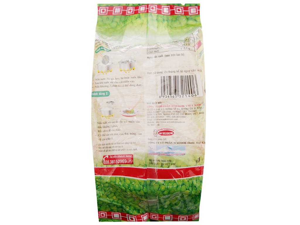 Miến đậu xanh Yến tiệc Phú Hương Vina Acecook gói 210g 3