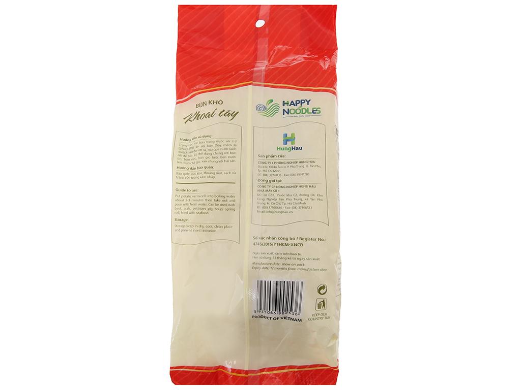 Bún khoai tây Happy Noodles gói 400g 3