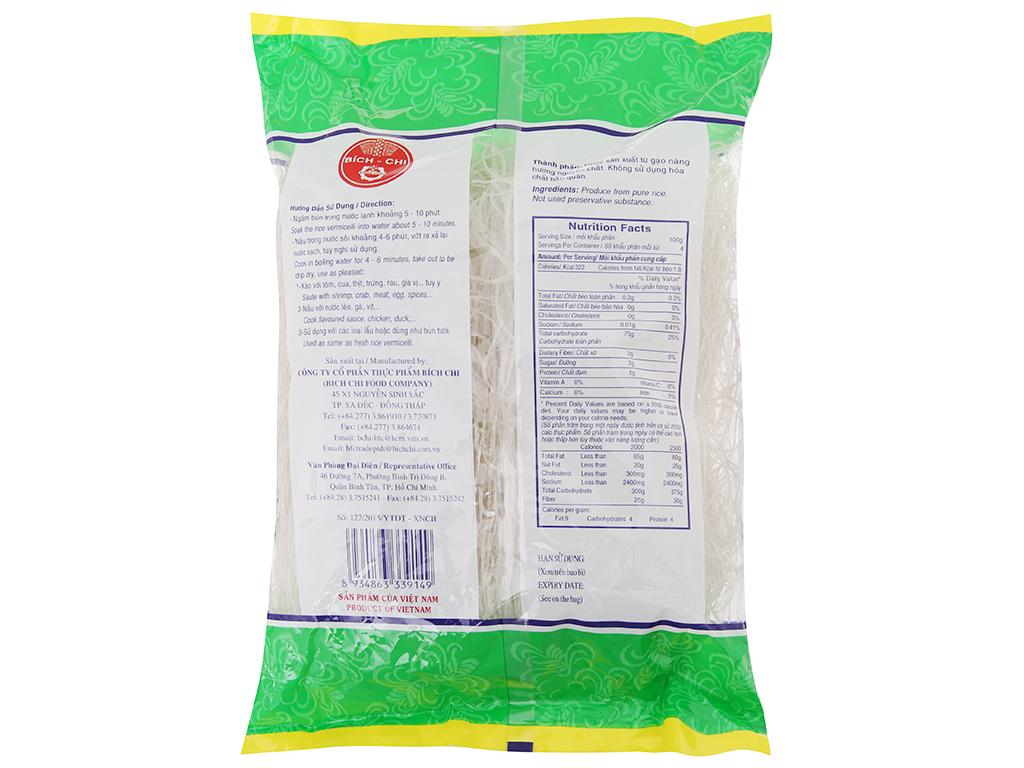 Bún gạo Nàng Hương Bích Chi gói 400g 3
