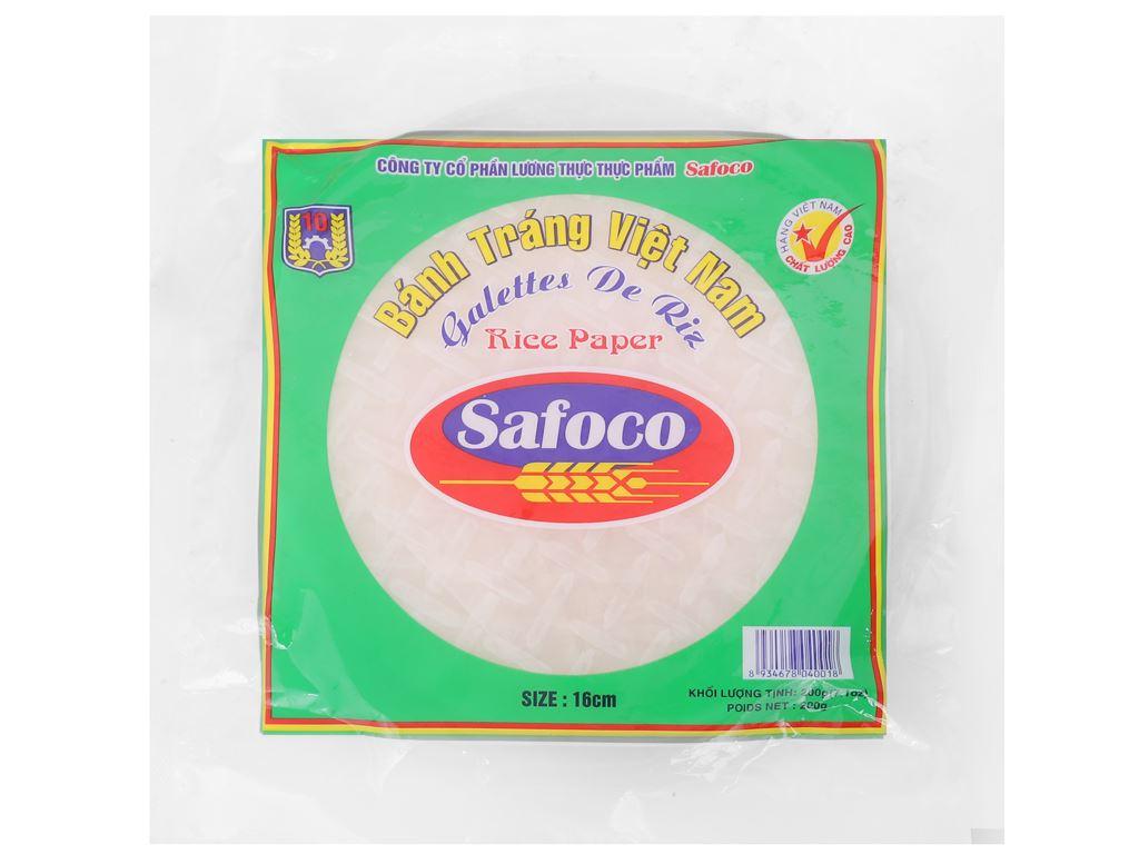 Bánh tráng 16cm Safoco gói 200g 1